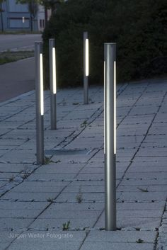 commercial square light bollards - Google Search