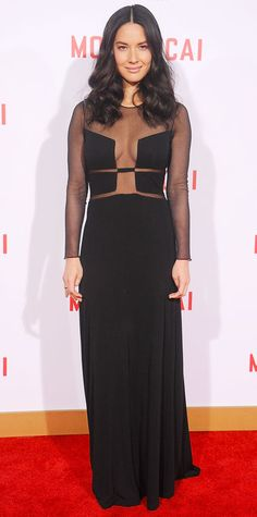 Look of the Day - January 22, 2015 - Olivia Munn in Ralph Rucci from #InStyle