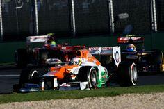 Paul Di Resta (Sahara Force India 2012) - Melbourne