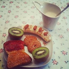 Good morning! #healthyfood #breakfast - @melissazino- #webstagram