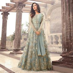 Looking to buy Anarkali online? ✓ Buy the latest designer Anarkali suits at Lashkaraa, with a variety of long Anarkali suits, party wear & Anarkali dresses! Eid Dresses, Pakistani Dresses, Bridal Dresses, Party Wear Indian Dresses, Asian Wedding Dress, Walima Dress, Pakistani Suits, Gown Dress, Long Dresses