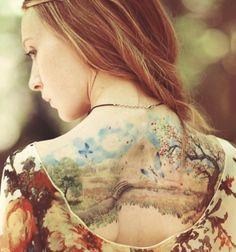 10 tatuajes estilo acuarela que te sorprenderán - MDZ Online