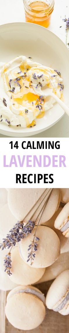 If you're seriously stressing about school or work or money (or all of the above), check out these perfectly plucked lavender recipes. Yummy Treats, Sweet Treats, Yummy Food, Cake Recipes, Dessert Recipes, Desserts, Lavender Recipes, Flower Food, Cooking Recipes