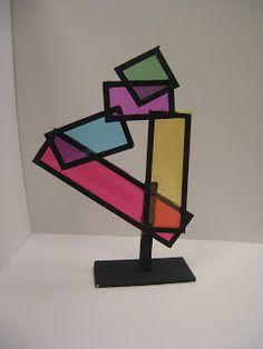 mrspicasso's art room: Tried and True 3d Art Projects, Classroom Art Projects, School Art Projects, Art Classroom, Sculpture Lessons, Sculpture Projects, Sculpture Art, Cardboard Sculpture, 4th Grade Art
