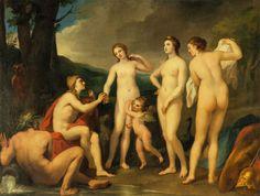 The Judgment of Paris_ Raphael Mengs