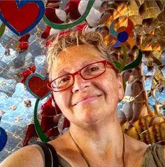 Io ci metto il cuore. Giardino dei Tarocchi, Capalbio (GR)  © foto di Reginariarosa
