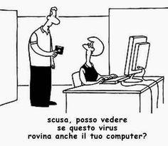 ATTIMI ETERNI  -  di  Luigi Squeo: I virus informatici.