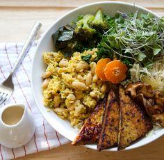 vegan macrobiotic bowl