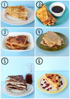 Six Kinds of Vegan French Toast -
