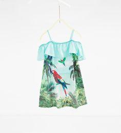 Printed dress-DRESSES-GIRL-SALE-KIDS | ZARA United States