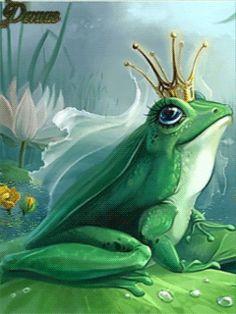 Царевна Лягушка - анимация на телефон №1237799