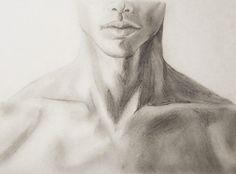 Study #1, 2011 Art Drawings Sketches Simple, Pencil Art Drawings, Guy Drawing, Figure Drawing, Human Anatomy Art, Anatomy Sketches, Art Studies, Art Sketchbook, Art Tutorials