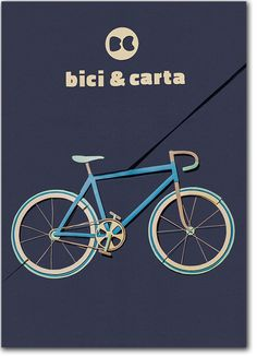 Bici&Carta by Elisa Biava, via Behance