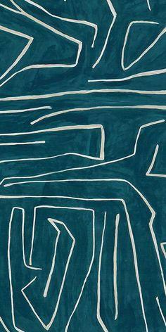 Graffito Fabric by Kelly Wearstler