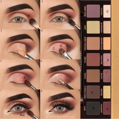 Love Anastasia palettes for smokey looks! Shop eyeshadow palettes at The Makeup Club today!