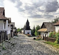 Hungary, Old Village of Hollókő and its Surroundings (from Edit).LOVED it! Budapest Travel Guide, Hungary Travel, Central And Eastern Europe, Beaux Villages, Adventure Is Out There, World Heritage Sites, Homeland, Macedonia, Albania