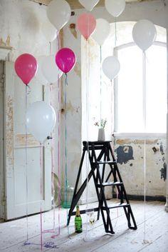 balloon etalageopening
