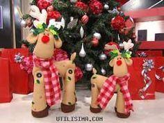pie de arbol navideño moldes - Buscar con Google