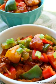 Crock Pot Sweet and Sour Chicken Recipe - A perfect and easy family dinner!