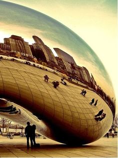 I loved the bean in Chicago when I went I loved the bean sooooooo much it was very very cool!