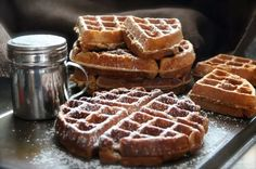 Gingerbread Waffles | Community Post: 15 Waffles That Leslie Knope Would Be Proud To Eat
