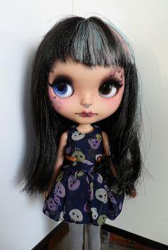 Sammie OOAK Blythe doll custom por SamPuppen en Etsy