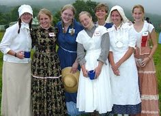 Pioneer Clothing Guidelines & Tips - Ashburn Stake YC Trek 2010 Pioneer Trek, Pioneer Day, Trek Ideas, Pioneer Clothing, Diy Clothes, Clothes For Women, Young Women Activities, Bridesmaid Dresses, Wedding Dresses