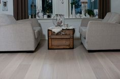 """Nordic Antique """"White Falls""""The unique tones of white and grey contained in waterfalls makes an extremely eye-catching and exclusive floor. Engineered Hardwood Flooring, Hardwood Floors, Floor Design, Couch, Throw Pillows, Living Room, Antiques, Bed, Interior"""