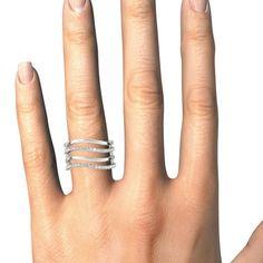 STYLE# 84718 - Fashion Rings - Diamond Fashion