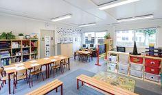 Aménagements Intérieurs - Salles de classe primaire   Portakabin