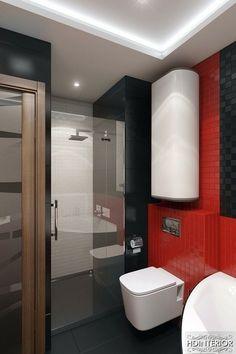 couleur-salle-bain-vert-pistache-carrelage-noir-joints-blancs ...
