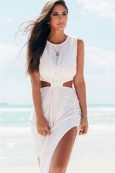 d6e360a91016 Snow Oasis Dress   SABO SKIRT Einzigartige Kleider, Trendige Kleider, Maxi  Kleider, Weiße