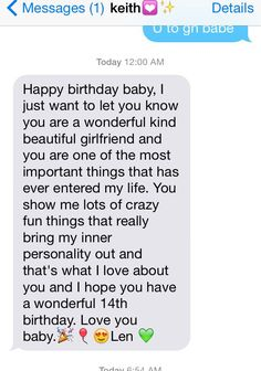 Text from bae on boyfriend texts, happy birthday boyfriend message, texts to girlfriend, Birthday Wishes Reply, Birthday Wishes For A Friend Messages, Happy Birthday Quotes For Friends, Birthday Cards, Birthday Sayings, Birthday Images, Happy Birthday Boyfriend Message, Happy Birthday Text Message, Message For Girlfriend