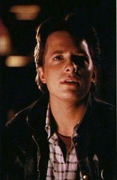 Beautiful Michael j Fox as the beautiful Marty Mcfly  :-)