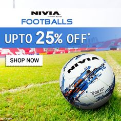 Buy online branded Nivia  Footballs and save upto 25%. Free shipping a2b593e7e88b9