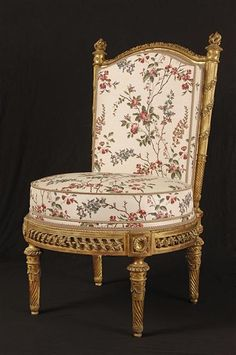 decorative chair from within the Belvedere ~ from awesome website, http://courtroyale.tumblr.com