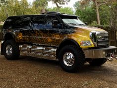 This truck was built by F650 SuperTrucks out of AugustaGeorgia. The truck since its conception in 2007 has always been stored in a 10,000 sq/ft climate controlled building in Florida and always far from the beaches. So the entire truck from top to undercarriage is rust and even surface rust free. The Hood has been...