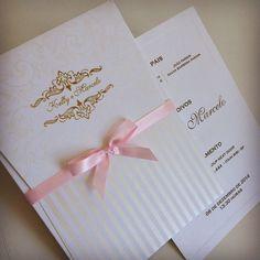 Convite de casamento Kelly. Papel e Estilo ♥♥♥