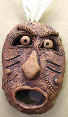 ARTISUN: Clay Masks - Student Art