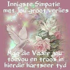 Birthday Prayer, Happy Birthday Son, Condolence Messages, Condolences, Sympathy Quotes, Afrikaanse Quotes, Deepest Sympathy, Bday Cards, Special Quotes