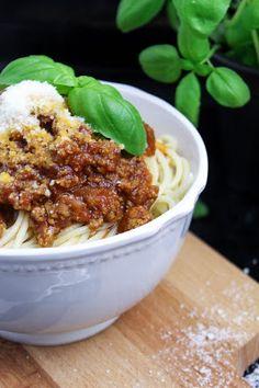 einfache Spaghetti Bolognese - Hilfe zum Einkochen