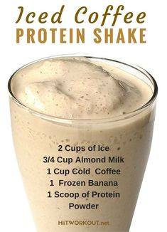 Iced Coffee Protein