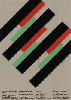 Josef Muller Brockman - Concert Poster