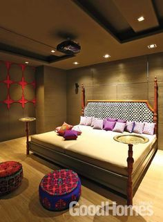 Master Bedrooms Guest Bedrooms Interior Design by Rahul Shar.- Master Bedrooms Guest Bedrooms Interior Design by Rahul Sharma … Master Bedrooms Guest Bedrooms Interior Design by Rahul Sharma - Luxury Bedroom Design, Bedroom Furniture Design, Home Room Design, Master Bedroom Design, Home Decor Furniture, Home Interior Design, Living Room Designs, Marble Interior, Ethnic Bedroom