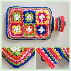 hot water bottle cover - free pattern