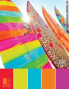 Surfs Up | Color Blocks Design 8.29.12