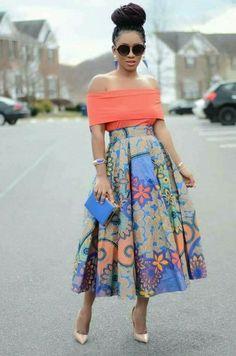 Inspiration: 10 idées de looks de Karen, Living my bliss instyle - Pagnifik African Print Dresses, African Fashion Dresses, African Dress, Ankara Fashion, African Print Skirt, African Prints, Ghanaian Fashion, African Inspired Fashion, African Print Fashion