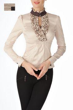 Стильная офисная блузка Golub / Б768-835-870