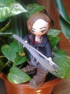 Friki fofucha Katniss Everdreen Los juegos del hambre Hunger games