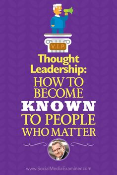 Thought Leadership: